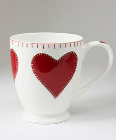 Take a look at this Heart Tall Mug by Jan Constantine by ECP on #zulily today!