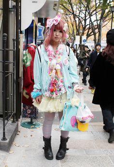 Harajuku street fashion   Japan Street Fashion