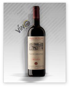 Pago de Carraovejas Crianza 2010es un vino de D.O. Ribera del Duero, elaborado con las varietales Tinta Fina 80% y Cabernet Sauvignon 20%.Pago de Carraovejas Crianzade 12 meses en barricas de roble francés y americano. #vino #riberadeduero #wine