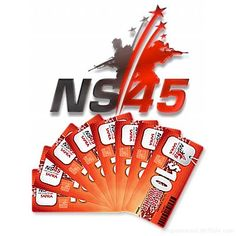 NS45 Vouchers – For Fathers To Sons, To Families And Friends