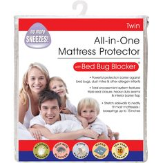 Levinshon All In One Zippered Mattress Protector