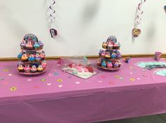 My little pony birthday candy table