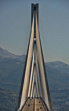 Rio-Antirio Bridge, Greece.