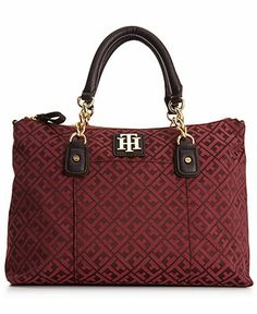 Tommy Hilfiger Bombay Convertible Shopper - All Handbags - Handbags Accessories - Macys