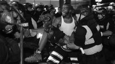 White Police Help Black Man Shot By Black Man At Black Lives Matter Riots #IRONY