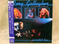CD/Japan- RORY GALLAGHER Stage Struck +2 bonus trx w/OBI RARE MINI-LP remaster #BluesRock