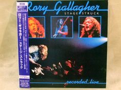 CD/Japan- RORY GALLAGHER Stage Struck +2 bonus trx w/OBI RARE MINI-LP remaster #BluesRock