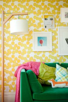 removable wallpaper - Bright Bold and Beautiful