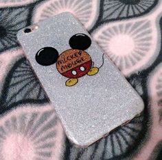 Case IPhone 6s - Glitter Mickey Mouse
