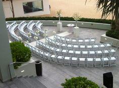 Oceanfront Ceremony in the Ocean Pool Terrace @ La Concha Resort!