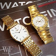 Going for gold! But which one... #Longines or #Omega?