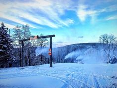 7 Springs is about an hour from downtown Pittsburgh and a great spot to hit the slopes this Winter season! : @7springspa