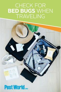 Be sure to keep an eye out for bed bugs when traveling. This pest can easily hitchhike home with you and cause a full-blown infestation. Backpacking List, Ultralight Backpacking, Travel Packing, Travel Tips, Packing Tips, Travel Ideas, Travel Inspiration, Travel Goals, Travel Hacks