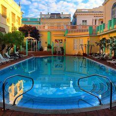 Hotel La Union, Cienfuegos, Cuba, pool