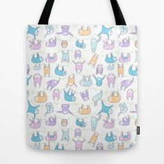Tote bags and leggings by kirakiradoodles on Society6    • So Super Awesome is also on Facebook, Twitter and Pinterest •