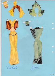 Danska Pärm 1 | Maggans nostalgiska klippdockor *1500 free paper dolls for Christmas at artist Arielle Gabriels The International Paper Doll Society and also free Asian paper dolls at The China Adventures of Arielle Gabriel *