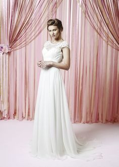 Lillie Mae dress from the Charlotte Balbier Iscoyd Park collection Charlotte Balbier Collection 2015 © Matthew Stansfield. All rights reserved Charlotte Balbier, Wedding Bridesmaid Dresses, Bridal Boutique, One Shoulder Wedding Dress, Tulle, Flower Girl Dresses, Lily, Wedding Ideas, Collection