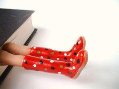 boots made for a'splashin'!