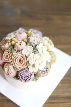 앙금플라워 떡케익, 꽃피는봄날 케이크 : 네이버 블로그