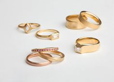 gold ring skinny ring plain ring 9ct Gold rope edge band stacking ring twisted band ring plain gold band -M3-0004 gold ring