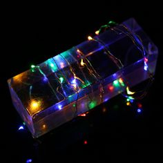 Efficient Zjright S Shape Decoration Glass Colorful Led Light String Interior Fragrance Eternal Flower Xmas Holiday Kids Birthday Gifts Complete Range Of Articles Lights & Lighting Outdoor Lighting