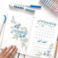 Weekly roundup of the top 10 Blue Journals | My Inner Creative