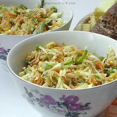 kedlubnovy-salat-se-sezamem Ale, Cabbage, Food And Drink, Vegetables, Ethnic Recipes, Ale Beer, Vegetable Recipes, Cabbages, Ales