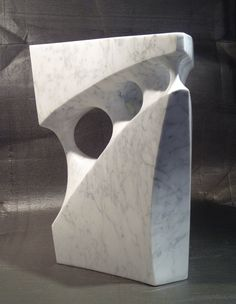 Labyrinth - Abstract sculpture - Carrara marble - x x - Jeremy Guy Marble Carving, Soapstone Carving, Marble Art, Carrara Marble, Stone Sculpture, Modern Sculpture, Sculpture Clay, Plastic Art, Stone Art