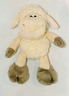 FREE Stuffed Animal Sheep Sewing Pattern / Template