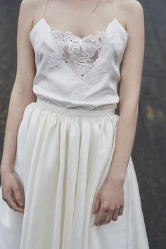 La nouvelle collection civile 2017 de robes de mariée d'Elise Hameau