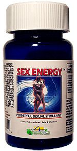 @ShopAndThinkBig.com - SEX ENERGY is a fast-acting sexual enhancement supplement that increases blood flow to the sexual organs, boosts overall energy and stamina, increases dopamine levels in the brain, and elevates testosterone and NO (Nitric Oxide) levels to facilitate peak bodily sexual function. You will feel powerful, motivated, and full of energy for intense sex. Works quickly to maximize your performance and pleasure. http://www.shopandthinkbig.com/sex-energy-4organics-p-314.html