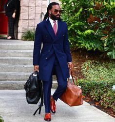 Preppy Mens Fashion, Mens Fashion Suits, Black Guy Fashion, Mens Suits Style, Blazer Outfits Men, Stylish Mens Outfits, Stylish Clothes For Men, Men Casual, Business Casual Black Men