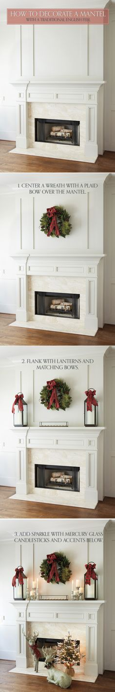 How to decorate a Mantel with a traditional, English feel