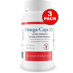 OmegaCaps Extra Strength For Large Giant Dogs Softgel Capsules) ** You can get additional details at the image link. (This is an affiliate link and I receive a commission for the sales) Giant Dog Breeds, Giant Dogs, Antioxidant Supplements, Pet Supplements, Nursing Supplies, Dog Itching, Dog Training Pads, Dog Dental Care, Dog Food Storage
