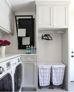 bøjlestang og vasketøjsstativ til klapud - måske foran vindue