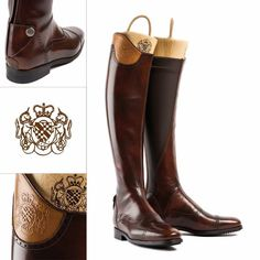 Alberto Fasciani has combined classic styling and innovative new  technologies with these new polished leather horse ad2479d0708