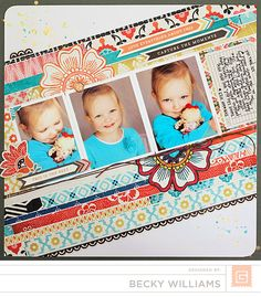 Capture the Moment by Becky Williams - BasicGrey - Spice Market Collection - 12 x 12 Collection Pack