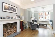 Find properties to buy in Clapham with the UK's largest data-driven property portal. View our wide selection of houses and flats for sale in Clapham. Living Room Paint, Living Room Grey, Home Living Room, Living Room Decor, Lounge Decor, Lounge Ideas, Victorian Terrace House, House Numbers, Property For Sale