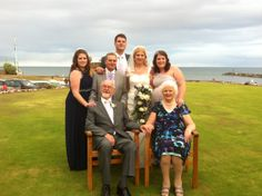 Lovely Wedding Photo at the Belmont Hotel