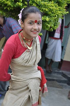 Celebration of Bihu in Assam, India ~ The Bihu Festival is considered one of the most popular festivals of India. It is celebrated in the months of January, April and October that represents the farming phases.