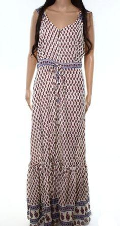 de837bda5c19 California Moonrise NEW Ivory Womens Size Medium M Printed Maxi Dress $89  750 #fashion #