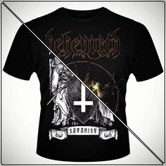 The Satanist. Mai multe modele cu Behemoth gasiti pe www. Metalhead, Romania, Mens Tops, How To Wear, Unitards