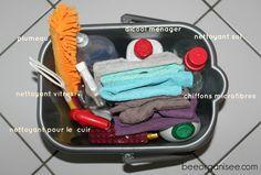 matériel pour le ménage