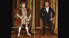 Artistas recriam personagem históricos com visual moderno - Henrique 8º