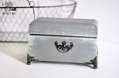 Retro Inspiracje: Kasetka dla mamy Marty / Retro Inspirations: A chest for Marta's mom