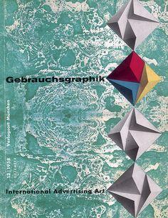 Gebrauchsgraphik - H.W. Kapitzki, December 1958