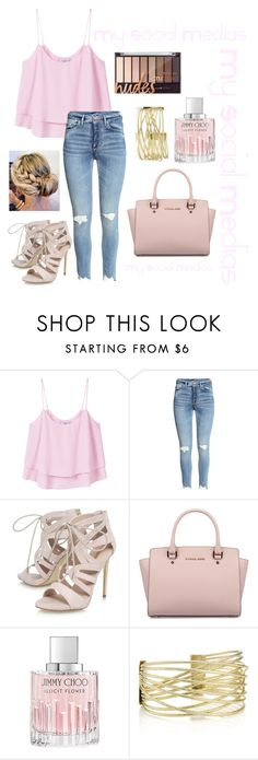 """RTD!!!!!!!!"" by lovebri1188 ❤ liked on Polyvore featuring MANGO, Carvela, Michael Kors and Jimmy Choo"