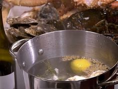 Poaching Liquid for Lobster (Court Bouillon) Recipe : Anne Burrell : Food Network - FoodNetwork.com