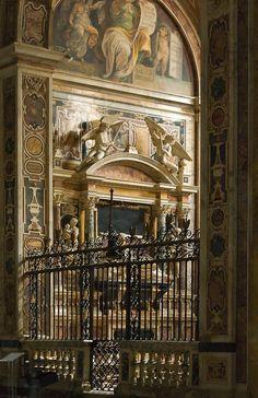 Side Chapel,Santa Maria sopra Minerva, Rome, Italy
