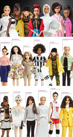 Barbie Introduces Real Female Heroes to Celebrate International Women s Day 672e0d682279